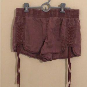 EXPRESS lavender shorts